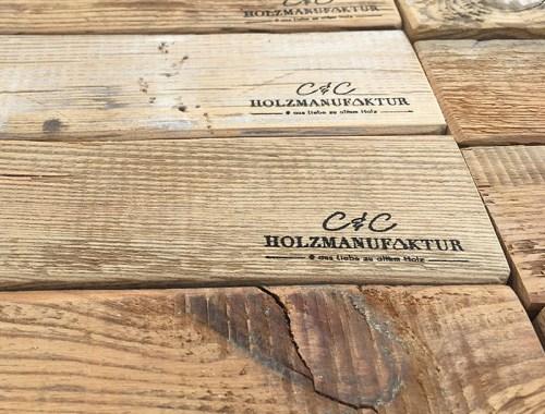 C&C HOLZMANUFAKTUR - Handgefertigtes Einzelstück
