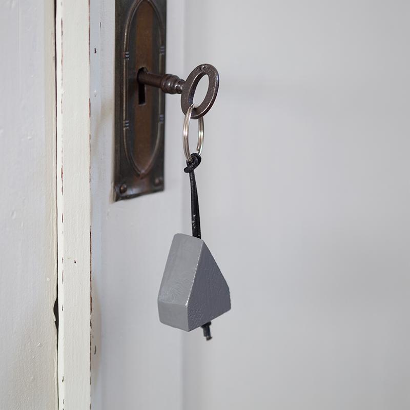LYSEKIL - Schlüsselanhänger Grau