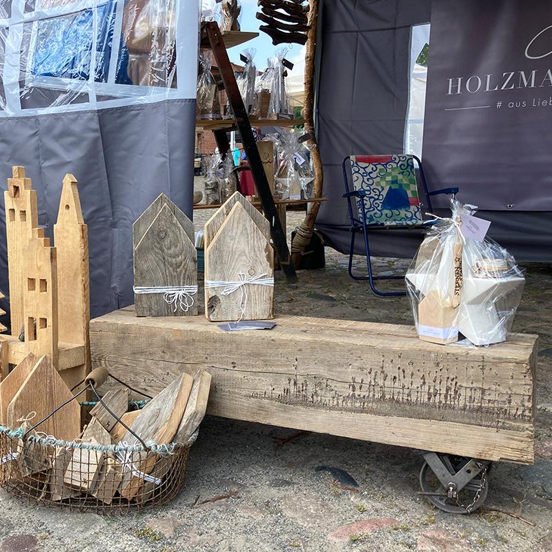 """C&C HOLZMANUFAKTUR - Marktstand auf dem """"Willkommensfest"""" - Kulturfest der S5-Region in Altlandsberg"""