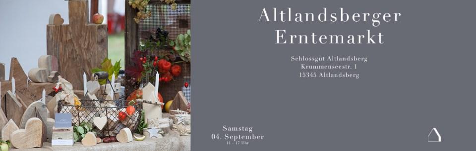 C&C HOLZMANUFAKTUR - Altlandsberger Erntemarkt am 04. September 2021