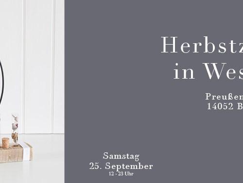 C&C HOLZMANUFAKTUR - Herbstzauber in Westend am 25. September 2021