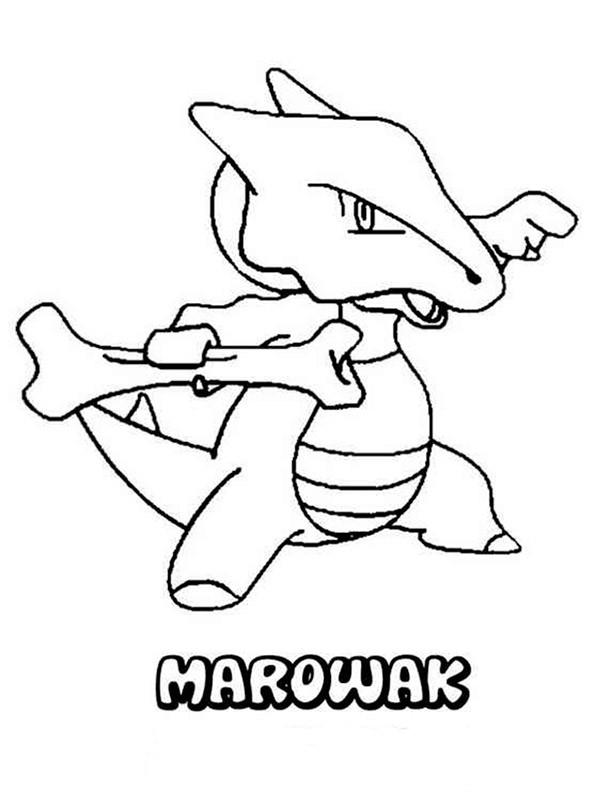 Pokemon 3 Ausmalbild