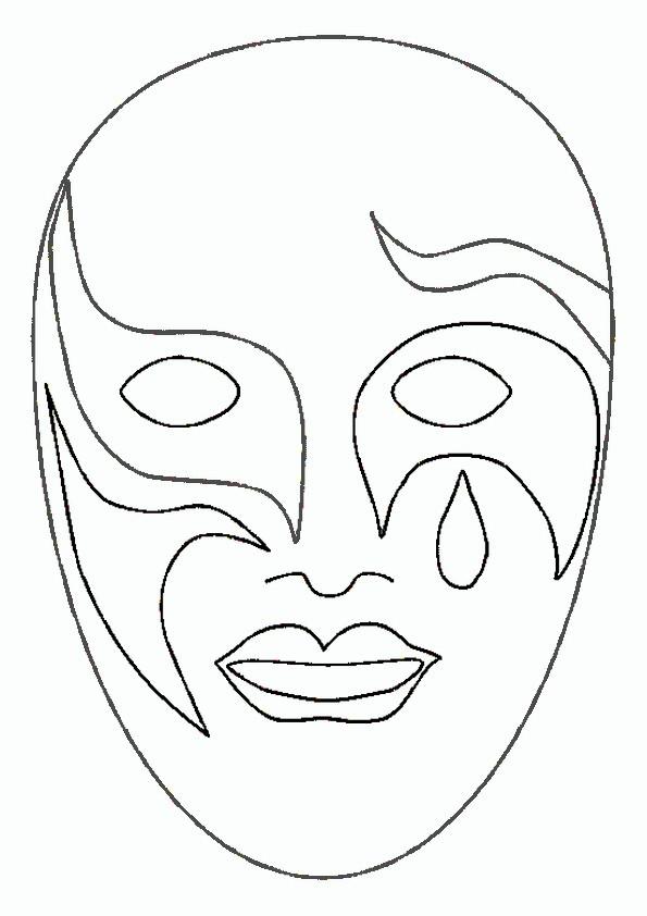 Ausmalbilder Masken 26 Ausmalbilder Malvorlagen