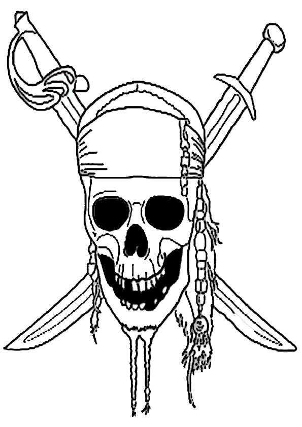 Ausmalbilder Piraten 6 Ausmalbilder Malvorlagen