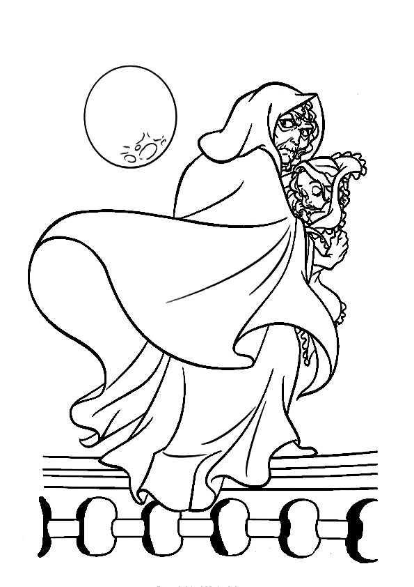 Ausmalbilder Rapunzel 25 Ausmalbilder Malvorlagen