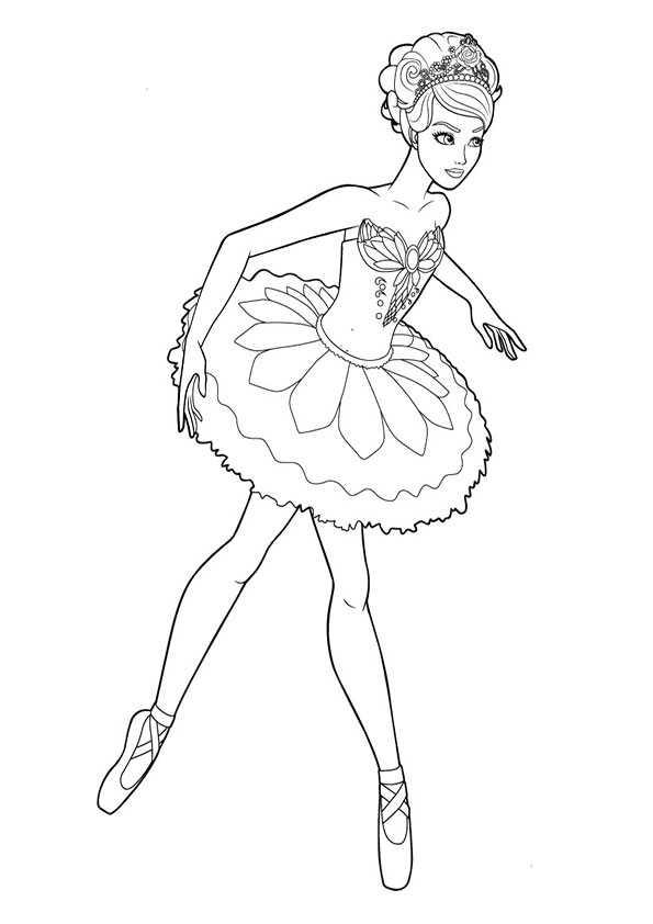 Ballett 5 Ausmalbilder Malvorlagen