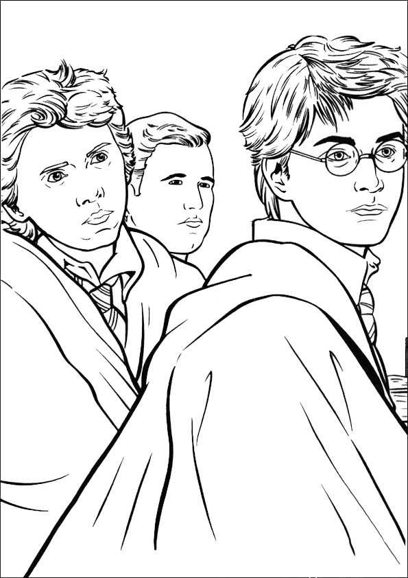 Harry Potter 13 Ausmalbilder Malvorlagen