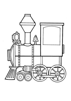 Ausmalbilder Lokomotive Spielsachen Malvorlagen Ausmalen