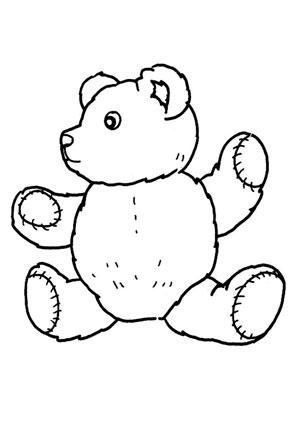 Ausmalbilder Teddy Spielsachen Malvorlagen Ausmalen