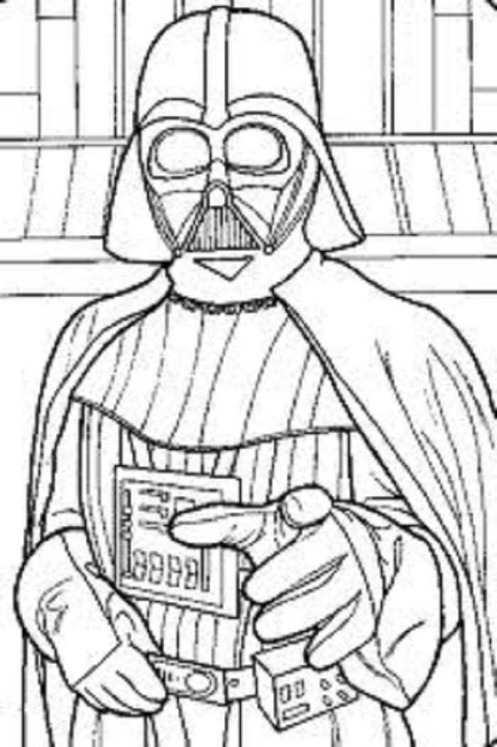 Star Wars Coloring Pages To Print For Boys