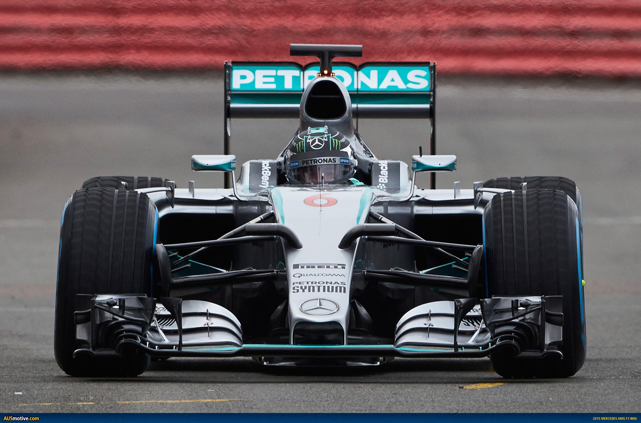2015 Mercedes AMG F1 W06 Revealed