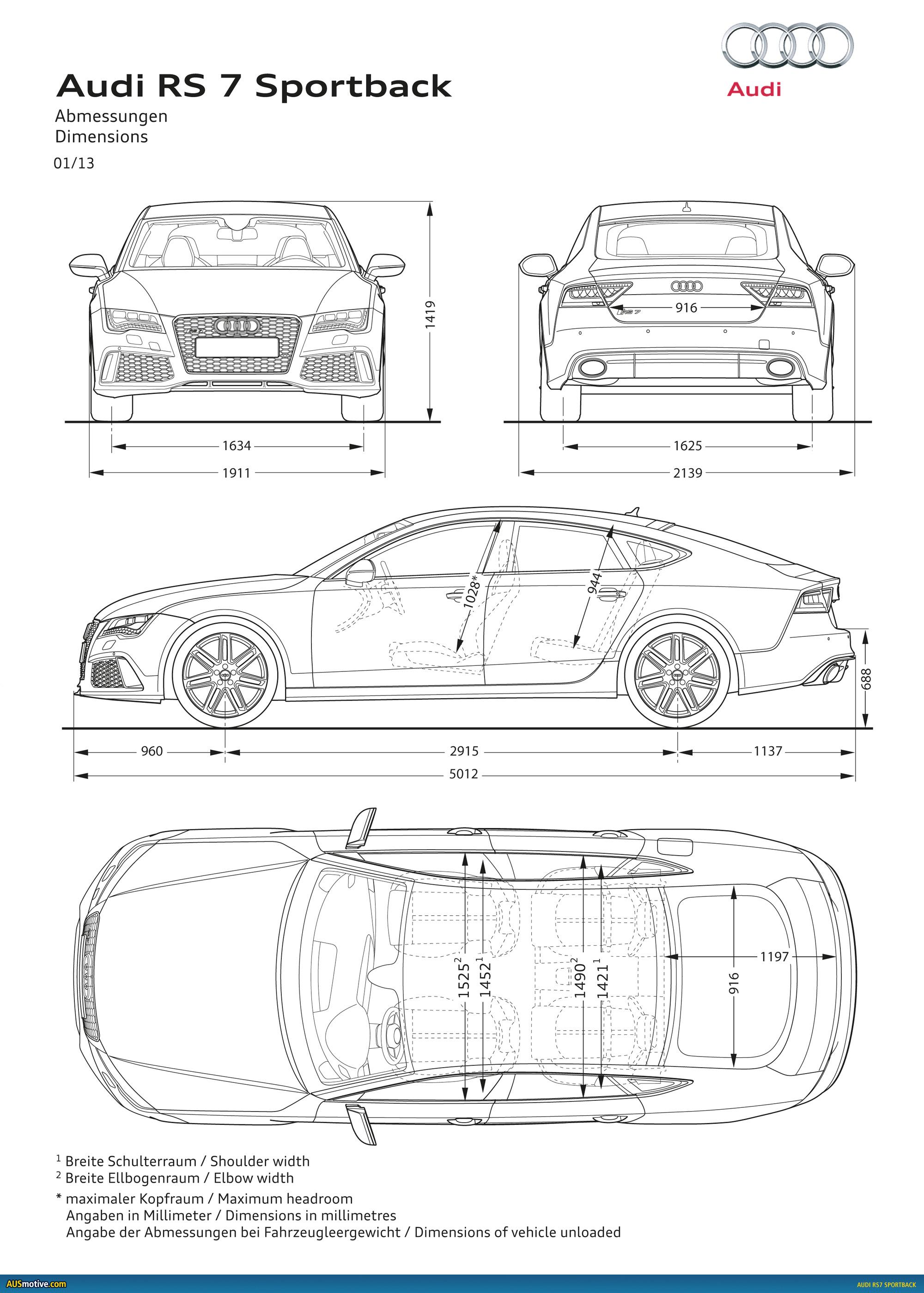 Ausmotive Detroit Audi Rs7 Sportback