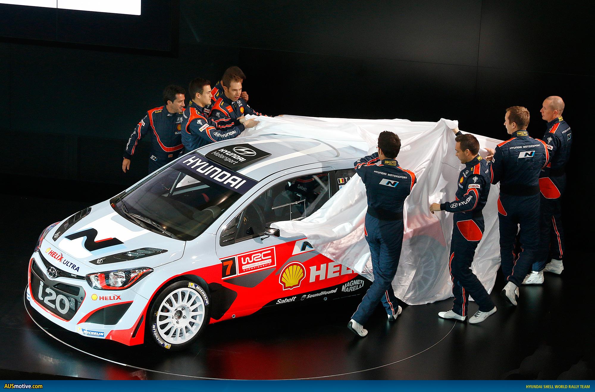 Hyundai Motorsport Launches I20 WRC Car