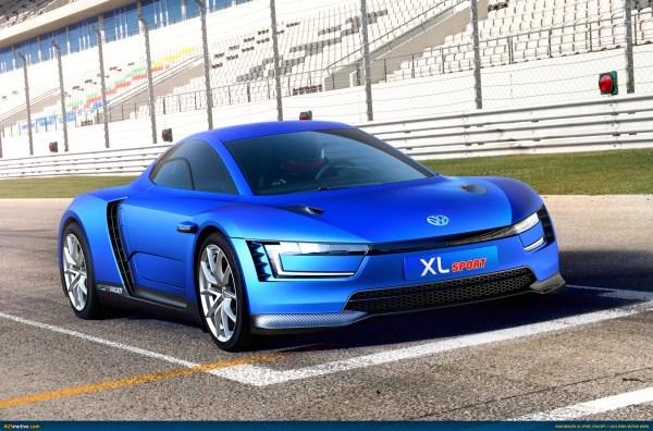 AUSmotive.com » Paris 2014: Volkswagen XL Sport