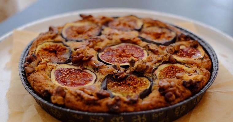 zuckerfreier Feigen-Mandelkuchen