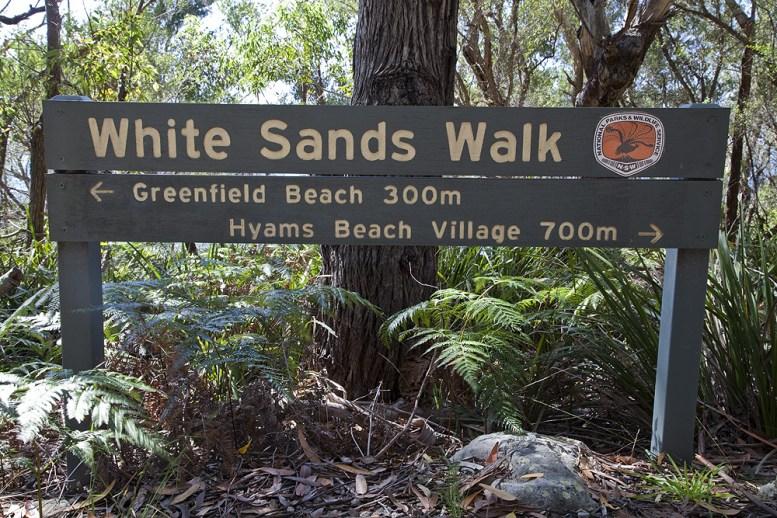 Wanderung - White Sands Walk
