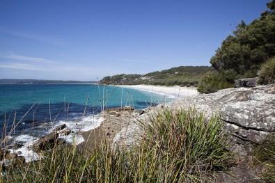 Jervis Bay Wanderung am Strand