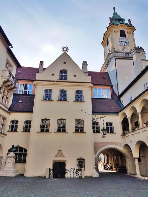 Altes Rathaus in Bratislava