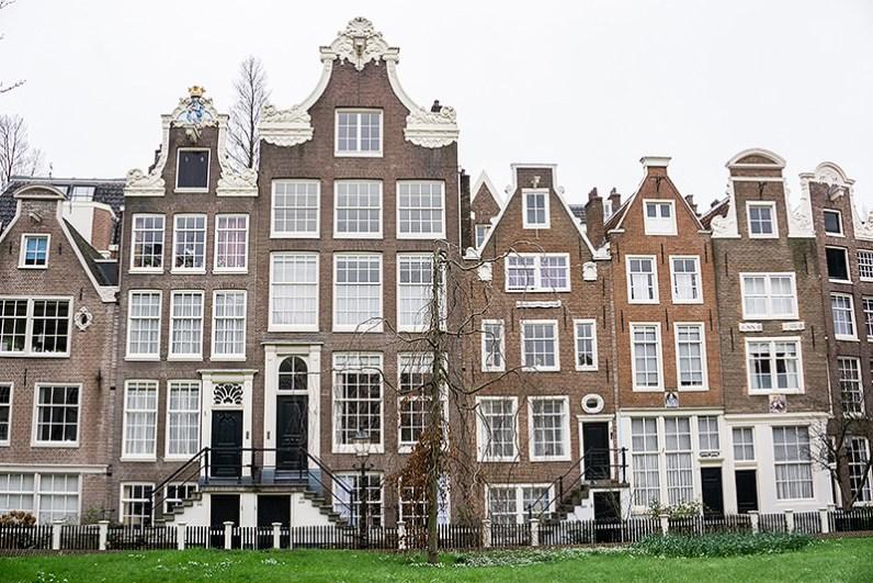 Gebäude im Begijnhof