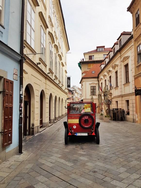 Altstadt-Gasse in Bratislava