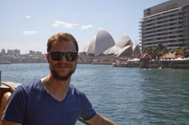 Fährüberfahrt im Hafen von Sydney