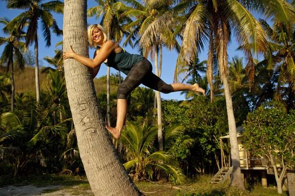 Climbing the Palm!
