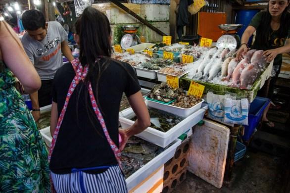 Fischmarkt in Phuket, Rawai