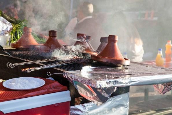 Tajine in den Garküchen von Marrakesch