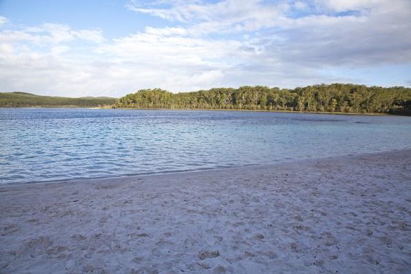 Lake McKenzie auf Fraser Island