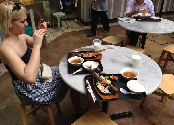 Lau Pa Sat Koreanisch