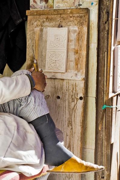 Künstler in Marrakesch