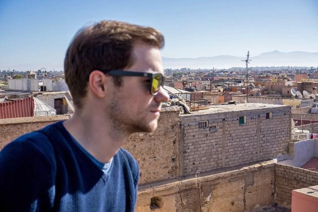 Rooftop Terrasse in Marrakesch