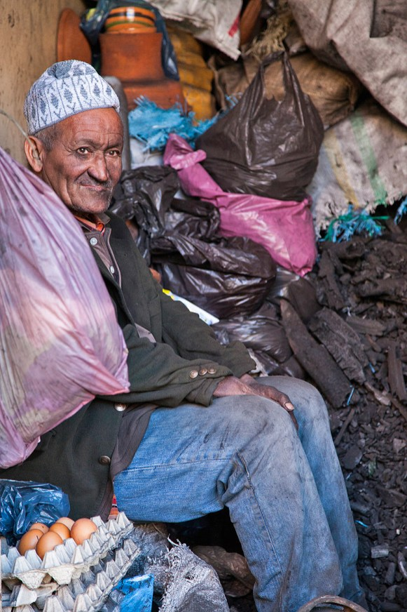 alter Mann in Marokko