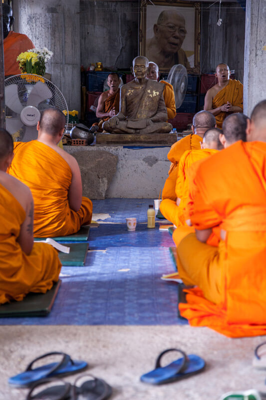 Mönche Big Bhudda Phuket