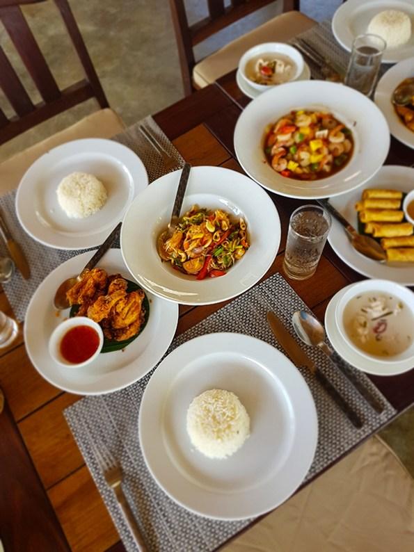 Essen im Resort