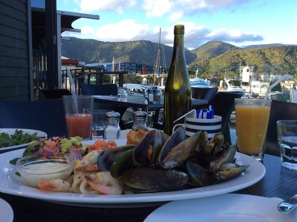Seafood-Teller
