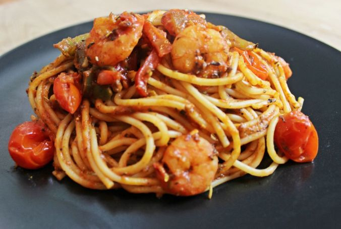 shrimp paprika pasta