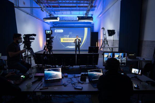 DEMV Roadshow Studioproduktion