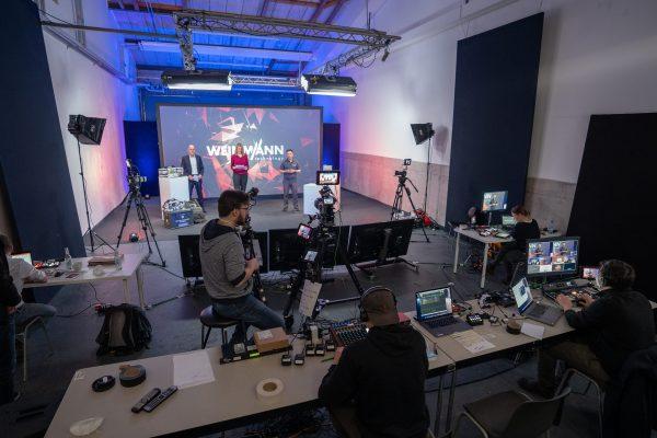 Hybrid Event Livestream Studio Hamburg