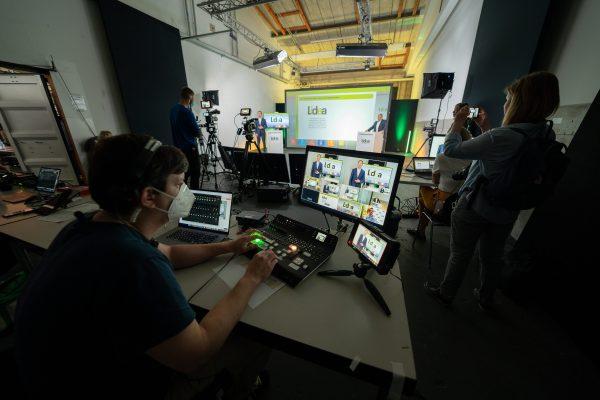 Digitale Pressekonferenz Anbieter Hamburg
