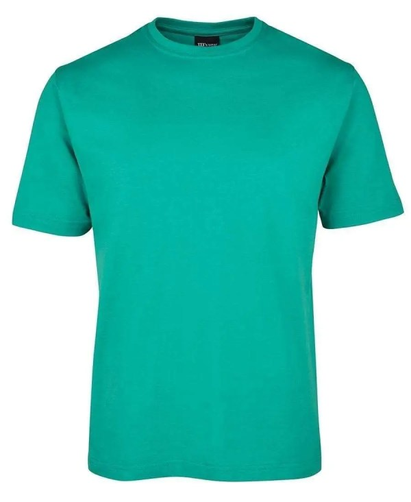Round Neck T Shirts - Kelly Green
