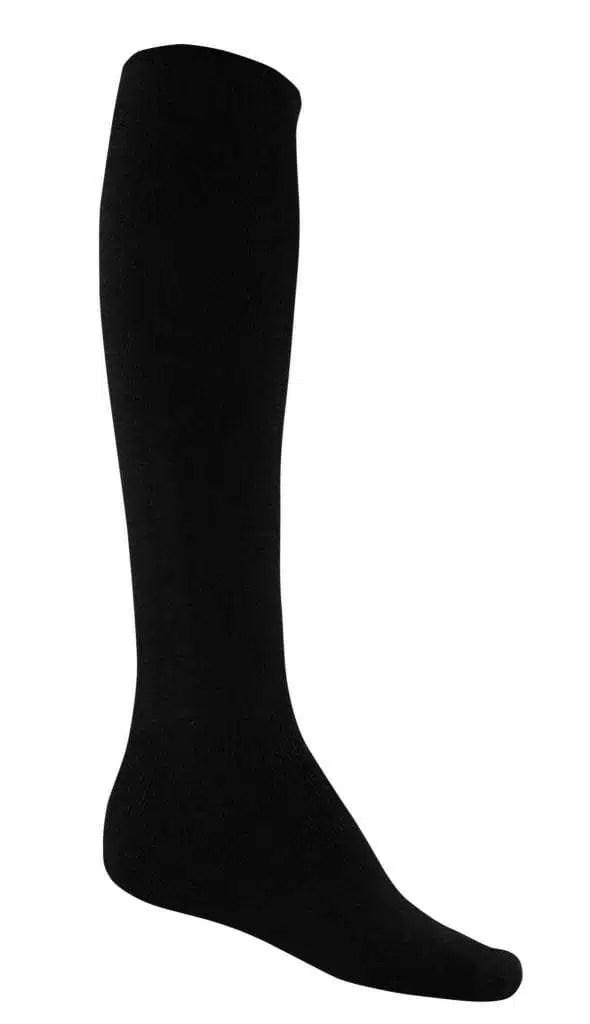 Bamboo Extra Long Thick Work Socks - Black