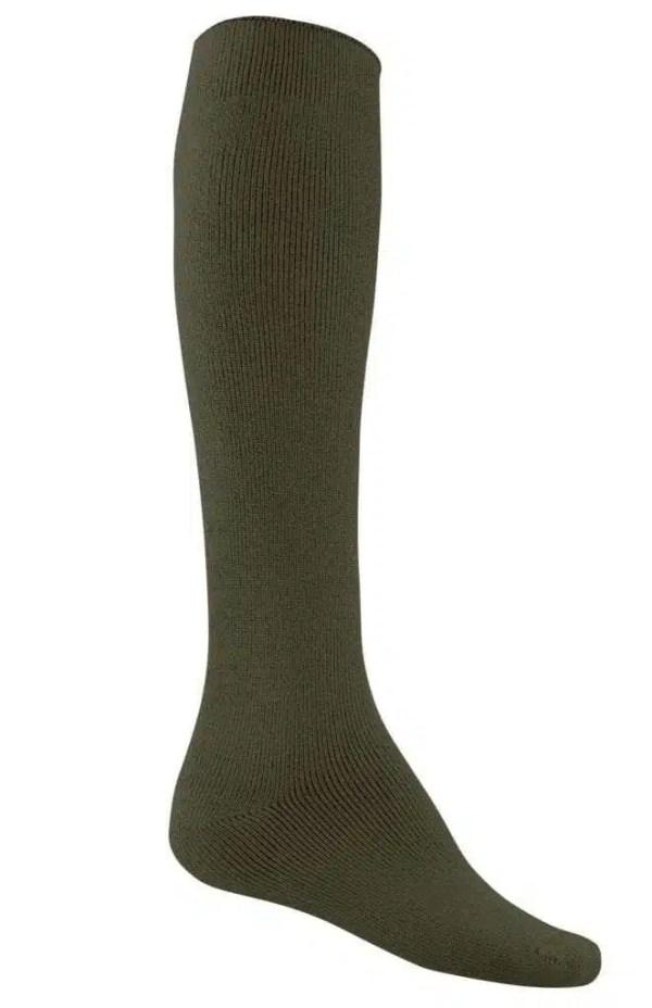 Bamboo Extra Long Thick Work Socks - Khaki