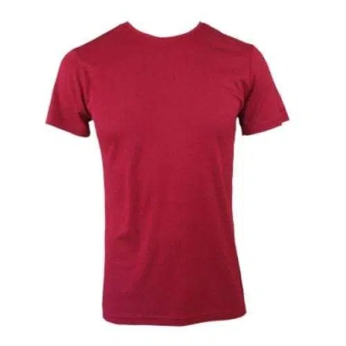 Bamboo Men's Tee Without Pocket - Burnt Red