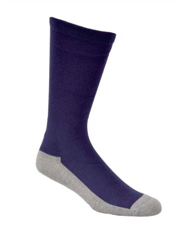 Bamboo Health Socks Nvy
