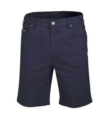 Pilbara Cotton Jean Shorts - Ink Navy