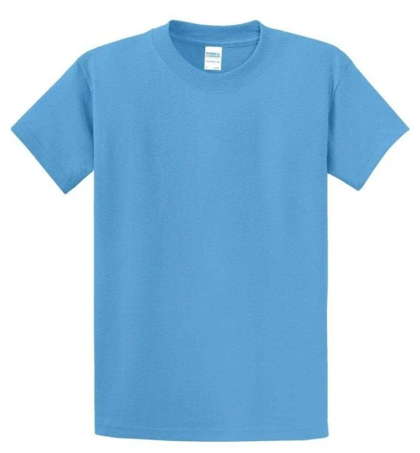 Tall Essential Tee - Aquatic Blue