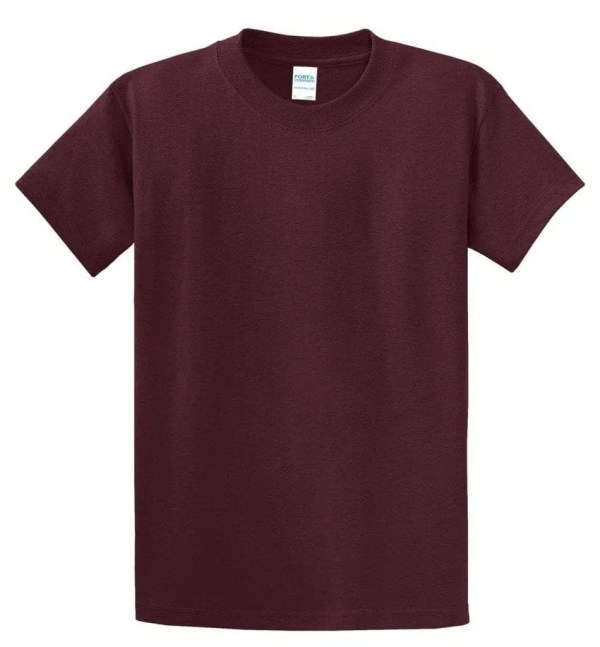 Tall Essential Tee - Maroon