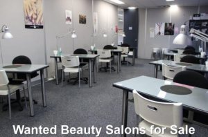 Wanted Beauty Salons for Sale