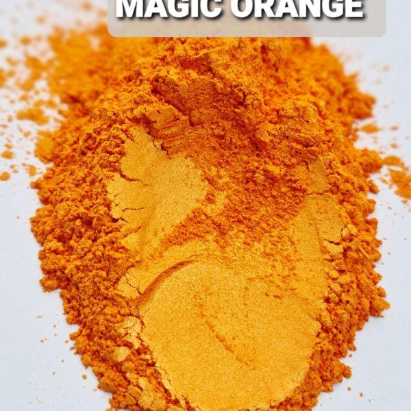 MAGIC ORANGE- Aussie Camphor - Mica Pigment Powder